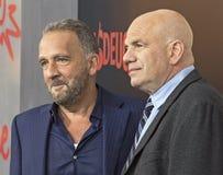 George Pelecanos und David Simon stockfoto
