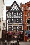 George Pub, Fleet Street construisant à partir de 1723 Photographie stock libre de droits
