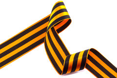 George Ribbon on a white background Royalty Free Stock Photography