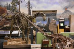 George S Πάρκο δεινοσαύρων Eccles σε Ogden, Γιούτα Στοκ φωτογραφίες με δικαίωμα ελεύθερης χρήσης