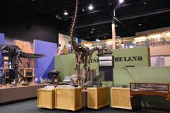 George S Πάρκο δεινοσαύρων Eccles σε Ogden, Γιούτα Στοκ Εικόνα