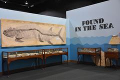 George S Πάρκο δεινοσαύρων Eccles σε Ogden, Γιούτα Στοκ φωτογραφία με δικαίωμα ελεύθερης χρήσης