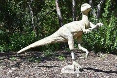 George S. Eccles Dinosaur Park in Ogden, Utah. USA Royalty Free Stock Image