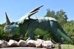 George S. Eccles Dinosaur Park in Ogden, Utah. USA Stock Photo