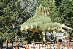 George S. Eccles Dinosaur Park in Ogden, Utah Royalty Free Stock Photo
