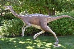 George S Eccles dinosaura park w Ogden, Utah zdjęcie stock
