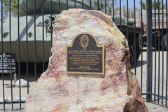 George S Patton Museum in California Immagine Stock Libera da Diritti
