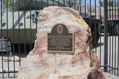 George S Patton Museum in Kalifornien Lizenzfreies Stockbild