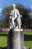 George Salmon statue at Trinity College in Dublin Ireland, 2015 Royalty Free Stock Photo