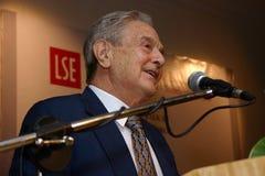 George Soros Lizenzfreie Stockfotografie