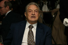 George Soros Foto de Stock Royalty Free