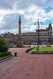 George Square in the city center of Glasgow Stock Image