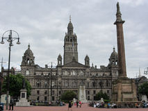 George Square, Glasgow, Schotland Stock Foto's