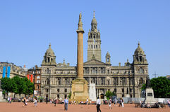 George Square Royalty Free Stock Photos