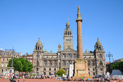 George Square Royalty Free Stock Images