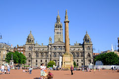 George Square Royalty Free Stock Photography