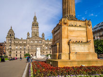 George Square, Glasgow Stock Photo