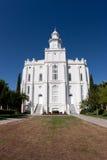 george st świątynia Utah Zdjęcia Stock