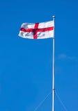 αγγλική σημαία George ST Στοκ Φωτογραφία