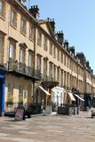 George St, Bath, Angleterre, R-U Photos libres de droits