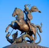 george st statua obrazy stock