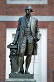 george statua Washington Zdjęcia Royalty Free