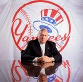 George Steinbrenner, dueño de los New York Yankees Imágenes de archivo libres de regalías
