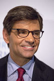 George Stephanopoulos. ABC News personality and co-host of Good Morning America, Goeorge Stephanopoulos, arrives on the red carpet for the International Women royalty free stock photos