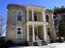 George Stickney Mansion Arkivbild