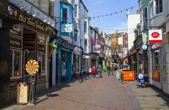 George Street in Hastings Stock Photo