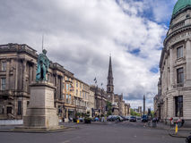 George Street in the New Town Royalty Free Stock Image