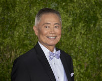 George Takei Arrives em Tony Awards 2015 Foto de Stock Royalty Free