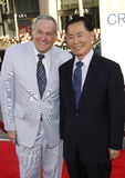 George Takei and Brad Altman Royalty Free Stock Images