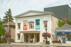 George Theatre royal dans le Canada de Niagarra photo stock