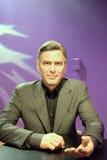 George Timothy Clooney Wax Figure Lizenzfreie Stockfotos