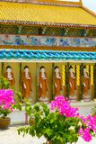 Kek Lok Si China temple in George Town Penang garden stock images