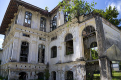 George Town Dilapidated Heritage Building Stock Photography