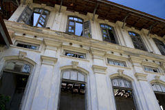 George Town Dilapidated Heritage Building Stock Images