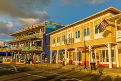 George Town-Harbour Drive 2 royaltyfri bild