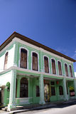 George Town Heritage Building Royalty Free Stock Photos