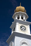 George Town Heritage Clock Tower. Centuries old Jubilee Clock Tower located at UNESCO's World Heritage site of George Town, Penang, Malaysia. It was built by a Stock Photography