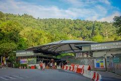 George Town, Malaisie - 10 mars 2017 : Belle vue en colline de Penang, une station de vacances de colline constituant un groupe d Photo libre de droits