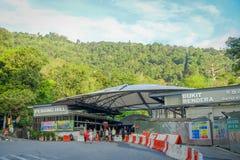 George Town, Malaisie - 10 mars 2017 : Belle vue en colline de Penang, une station de vacances de colline constituant un groupe d Photo stock