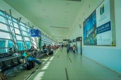George Town, Malaisie - 10 mars 2017 : L'aéroport de Penang, le troisième aéroport le plus occupé en Malaisie a placé dans le deu Photo stock