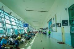 George Town, Malasia - 10 de marzo de 2017: Aeropuerto moderno en la opinión escénica de George Town Beautiful de la segundo mayo fotos de archivo libres de regalías