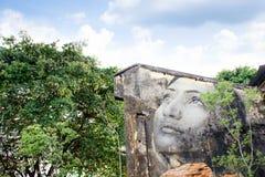 GEORGE TOWN, MALEZJA - 06 CZERWIEC, 2015: Kobiety twarzy obraz na b Obraz Royalty Free