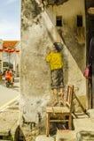 George Town Penang, Malaysia fotografering för bildbyråer