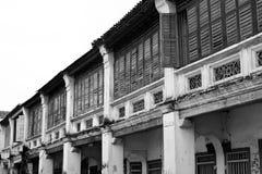 George Town Unesco World Heritage-Plaats, Penang, Maleisië Stock Afbeeldingen