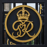 George VI crest Royalty Free Stock Image