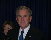 George W. Bush Photos libres de droits
